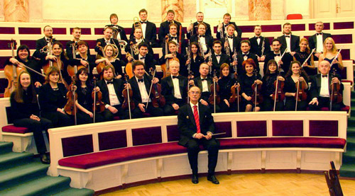 St. Petersburg Radio & TV Symphony Orchestra. Click to enlarge